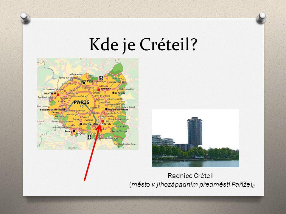 Kde je Créteil? Radnice Créteil (město v jihozápadním předměstí Paříže) 2