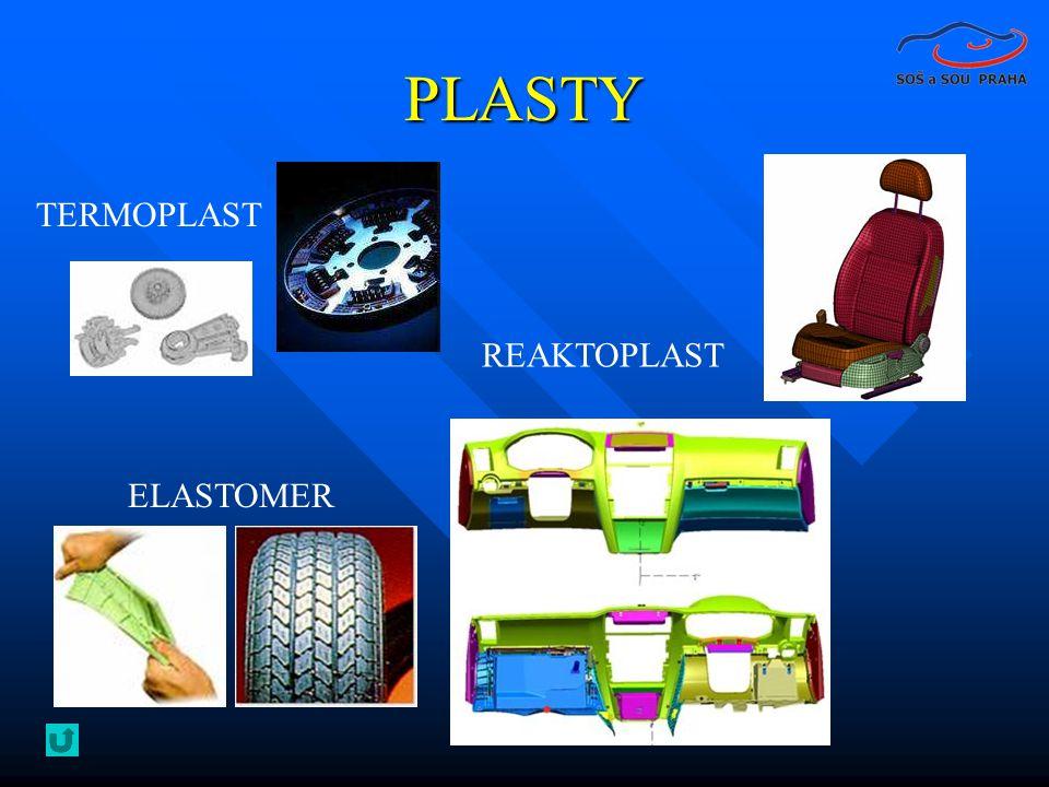 PLASTY ELASTOMER TERMOPLAST REAKTOPLAST
