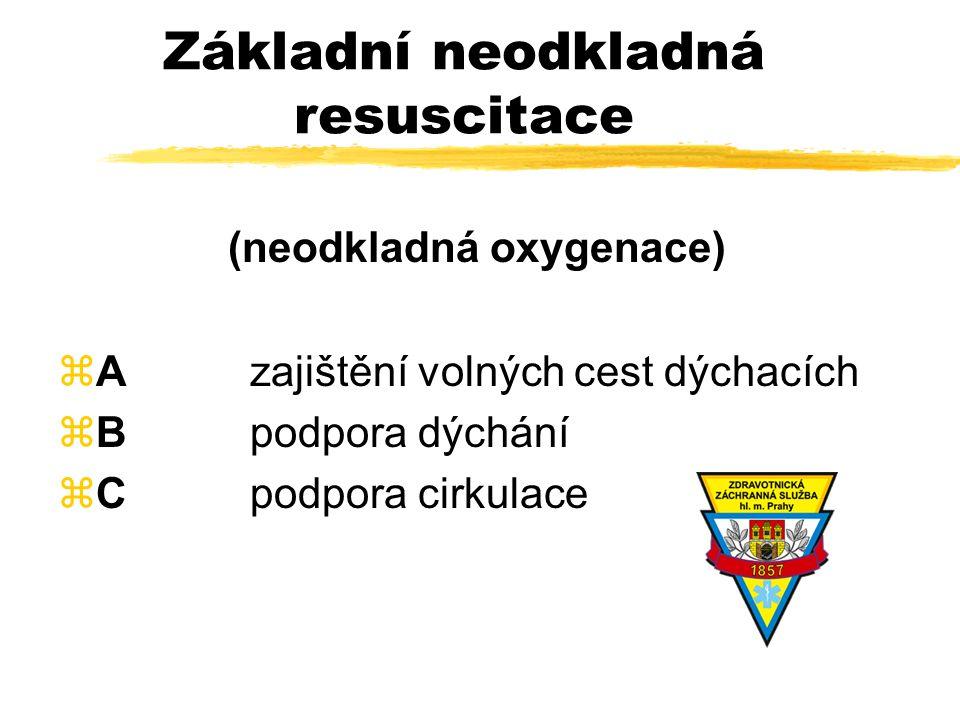 Farmakologie neodkladné resuscitace MUDr. Vladimír Moravec