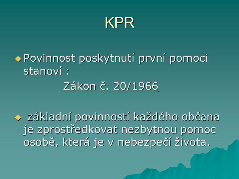 KPR Trestní zákon č.140/1961 Sb. § 207 Trestní zákon č.