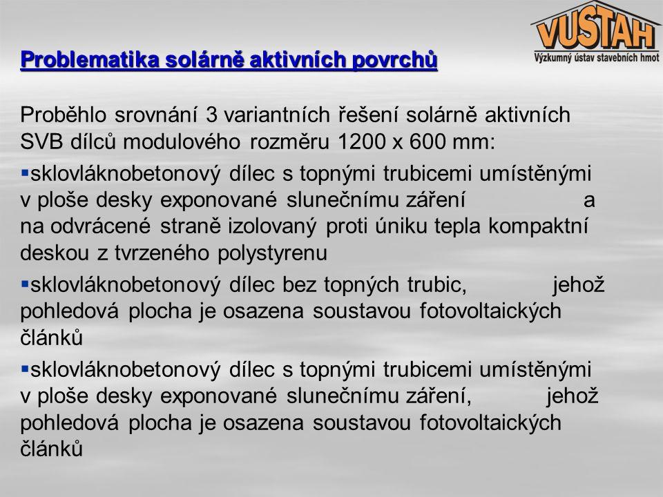 Svým charakterem se solární dílce nevymykají obvyklému sortimentu fasádních dílců firmy DAKO Brno spol.