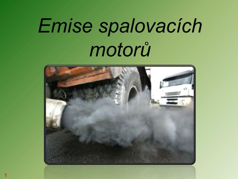 1 Emise spalovacích motorů