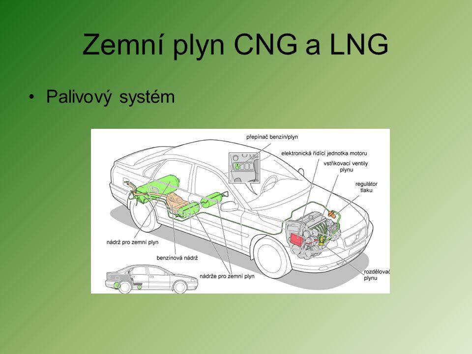 Zemní plyn CNG a LNG •Palivový systém
