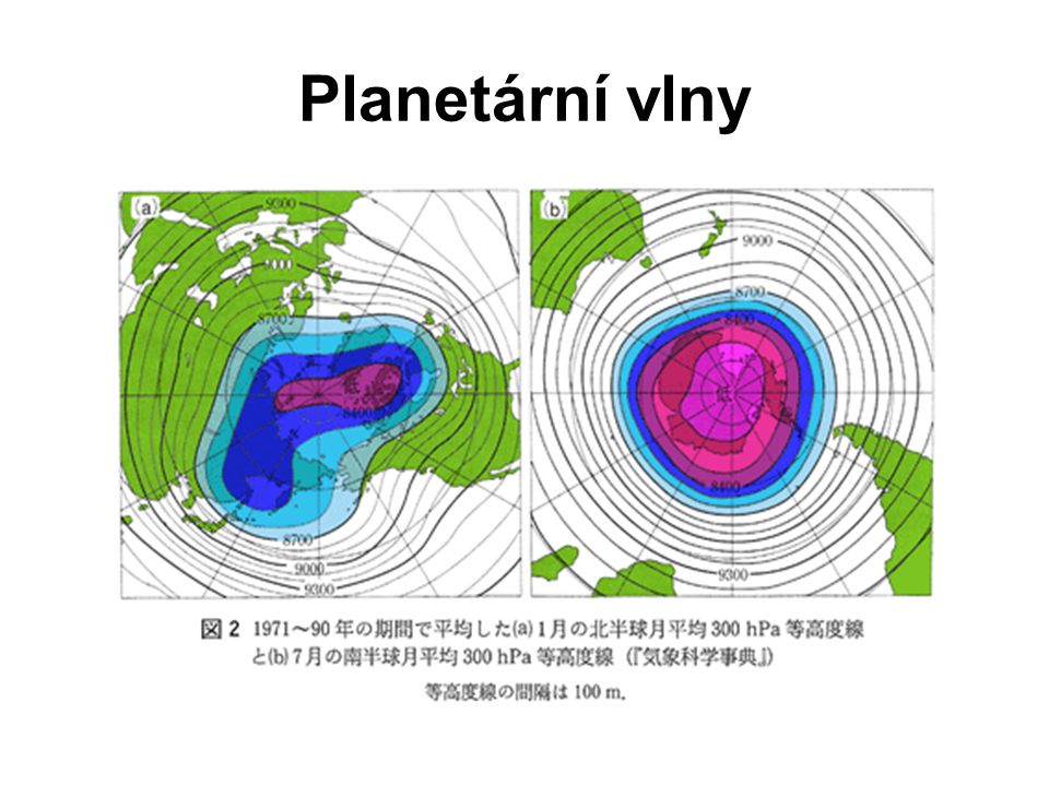 Planetární vlny II