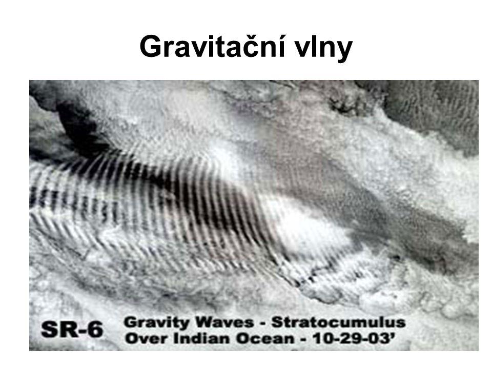 Příklady dalších vln… K-H vlna von Kármanovy víry