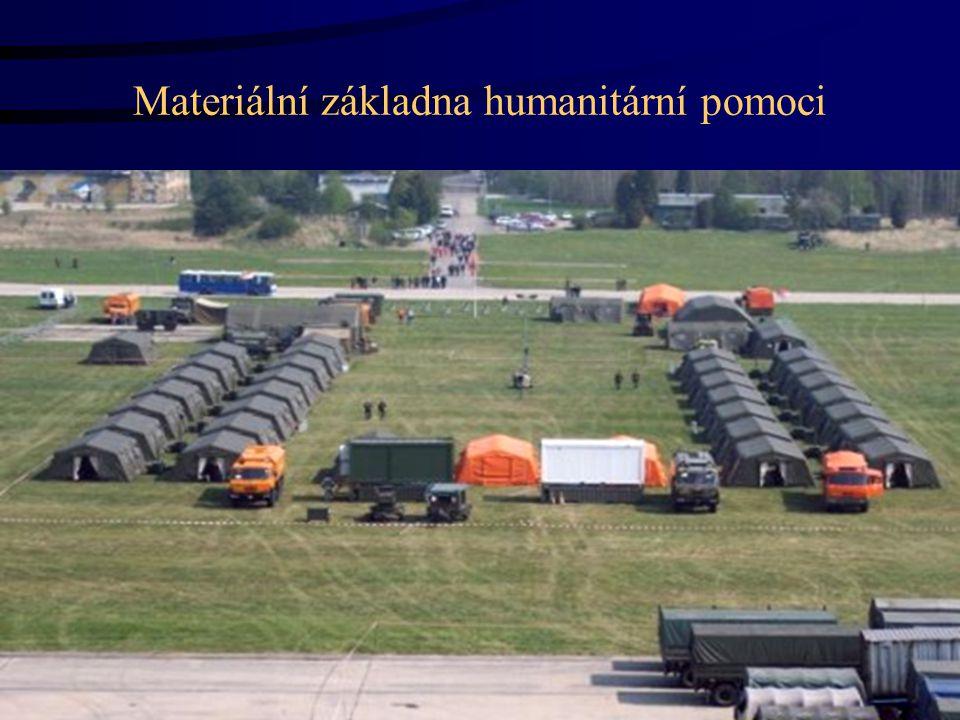 Materiální základna humanitární pomoci