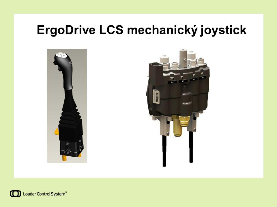 Speciální rozvaděče pro potřeby speciálních funkcí traktoru LCS umožňuje vytvoření specifických hydraulických sad pro traktory, které požadují nízké zatížení přední nápravy.