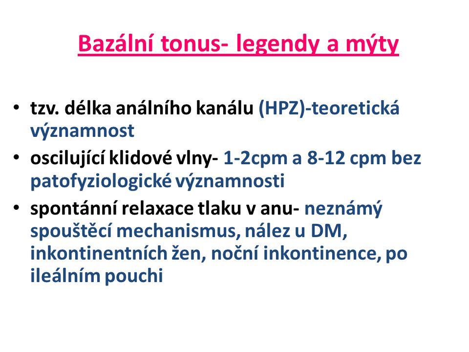 Bazální tonus- legendy a mýty • tzv.
