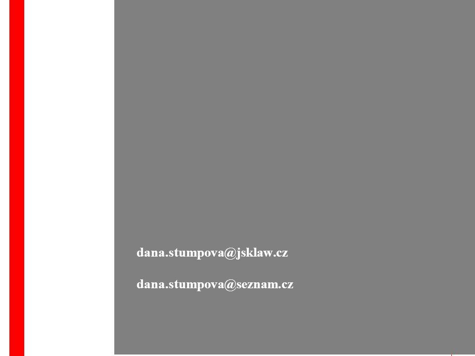 9 dana.stumpova@jsklaw.cz dana.stumpova@seznam.cz