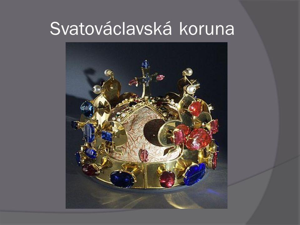  Svatováclavskou korunu nechal zhotovit Karel IV.