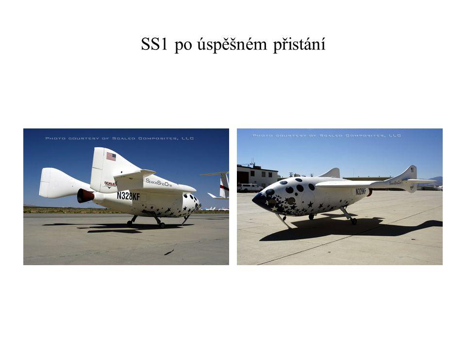 SS1 po úspěšném přistání
