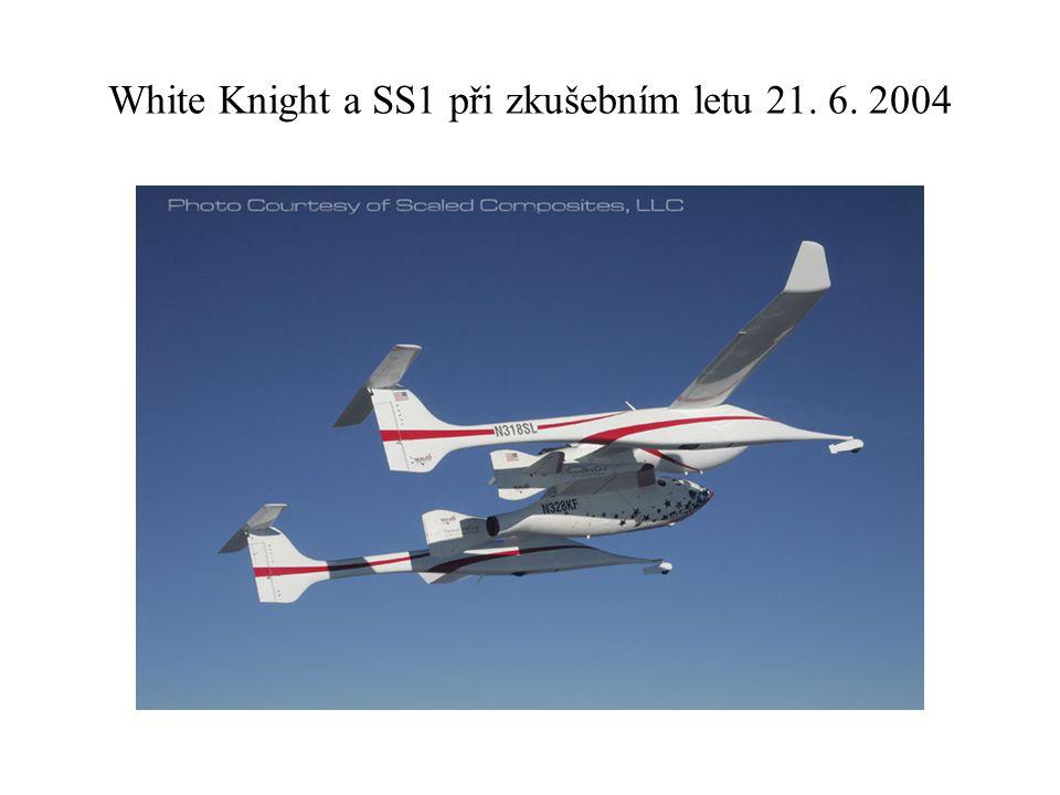 White Knight a SS1 při zkušebním letu 21. 6. 2004