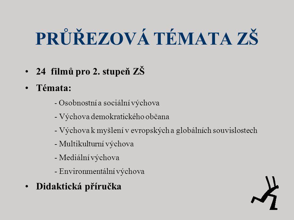 PRŮŘEZOVÁ TÉMATA ZŠ •24 filmů pro 2.