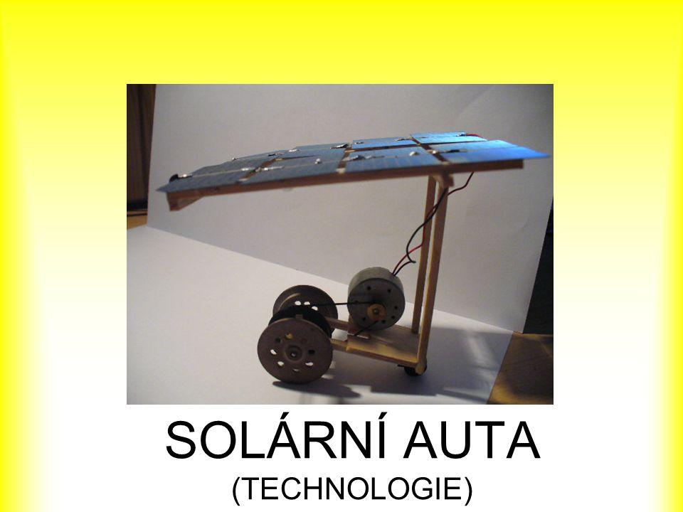 SOLÁRNÍ AUTA (TECHNOLOGIE)