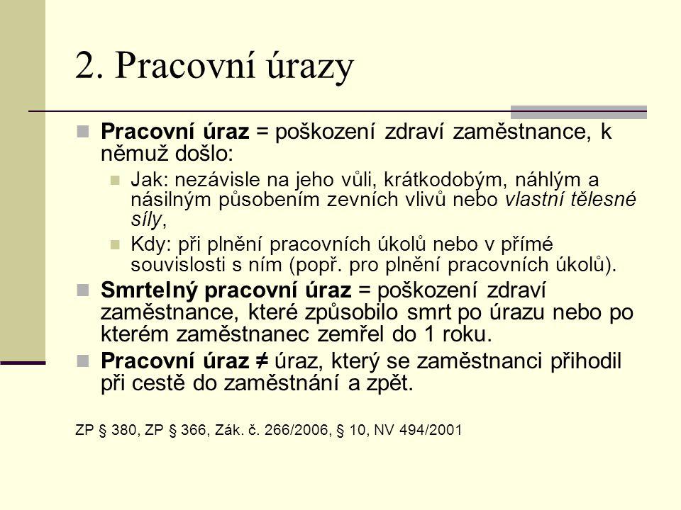 2.1 Plnění pracovních úkolů  Výkon pracovních povinností (vyplývajících z PP, DPČ, DPP).