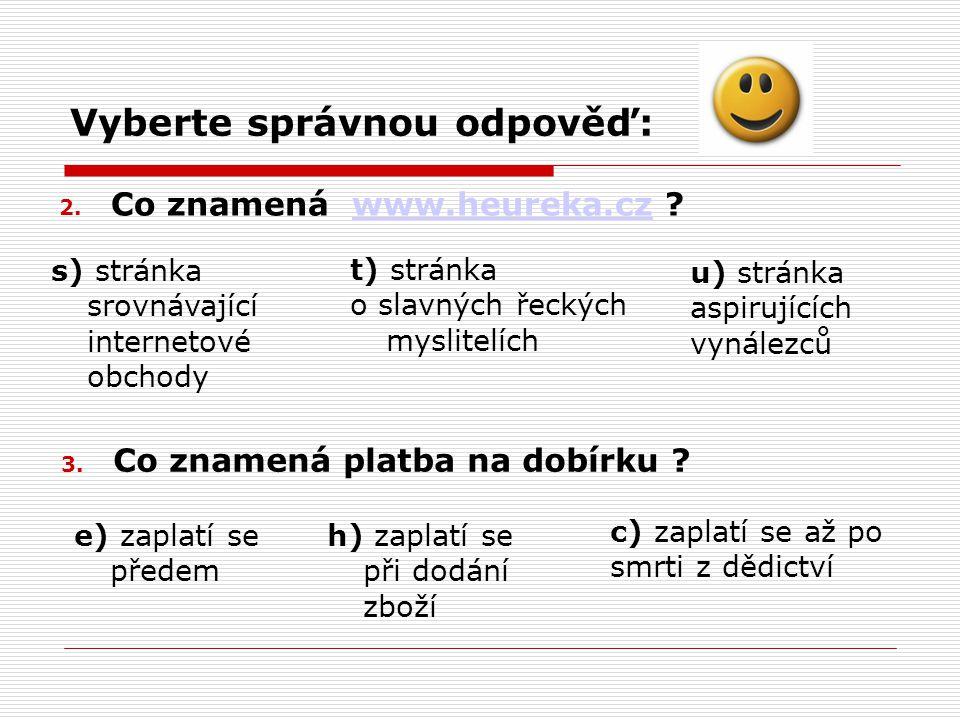 4.Co znamená www.heurekapoint.cz .