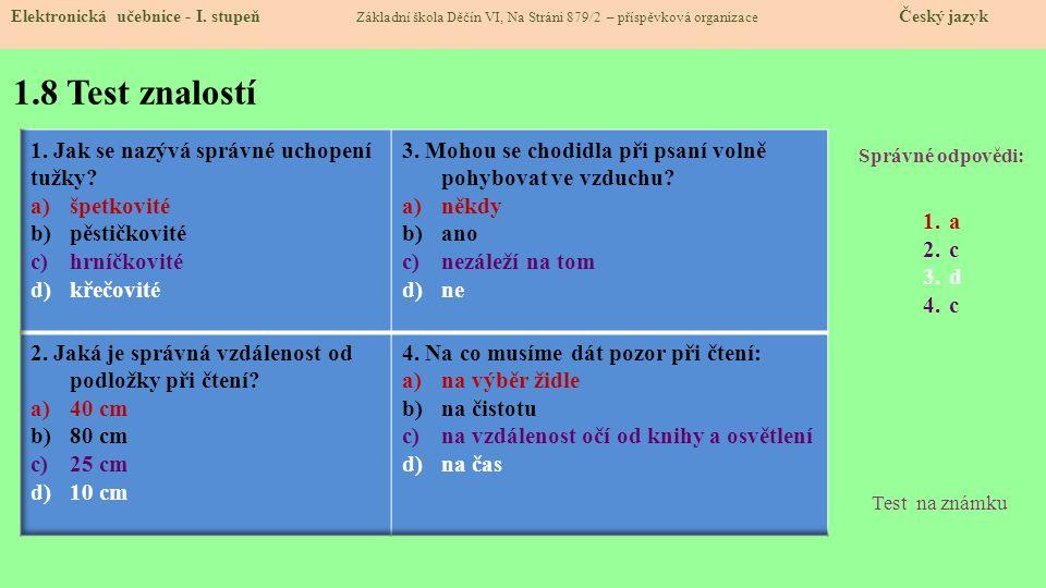 1.9 Použité zdroje, citace Elektronická učebnice - I.
