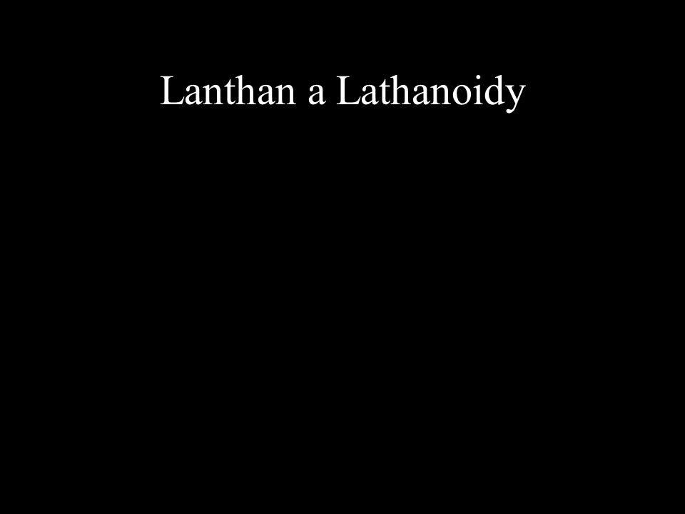 Lanthan a Lathanoidy