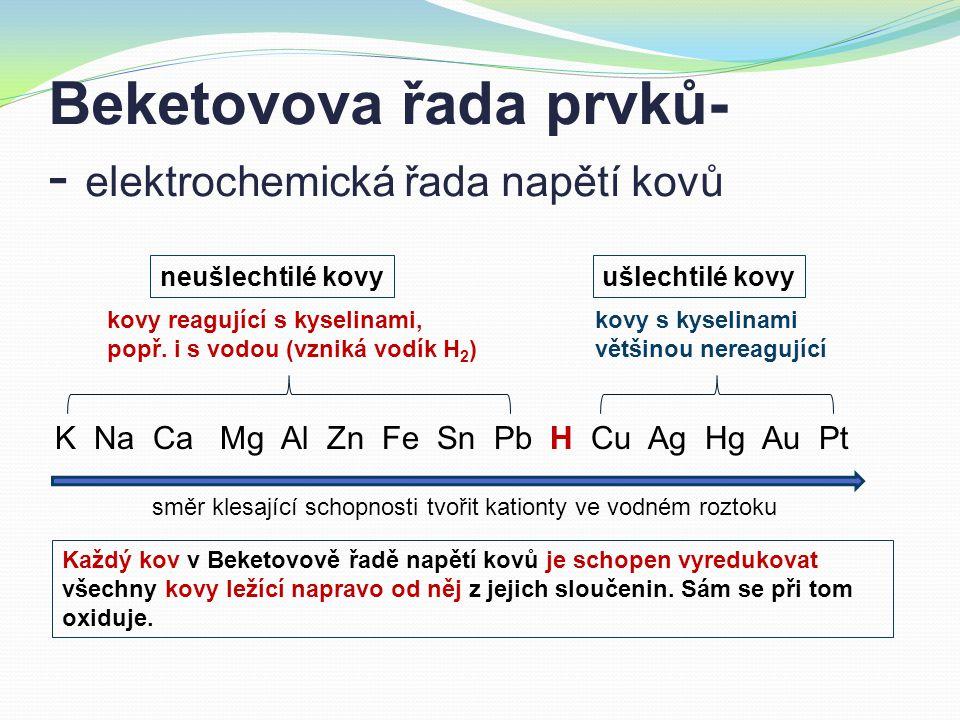 Vyčíslování redoxních rovnic Při výpočtu koeficientů redoxních rovnic se využívá toho, že počet elektronů uvolněných při oxidaci se musí rovnat počtu elektronů přijatých při redukci.