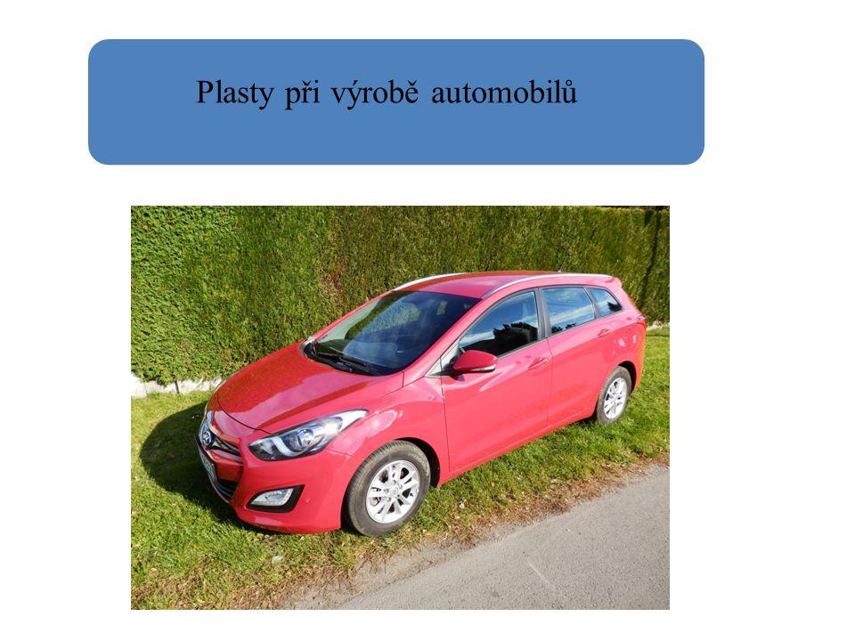 Plasty při výrobě automobilů