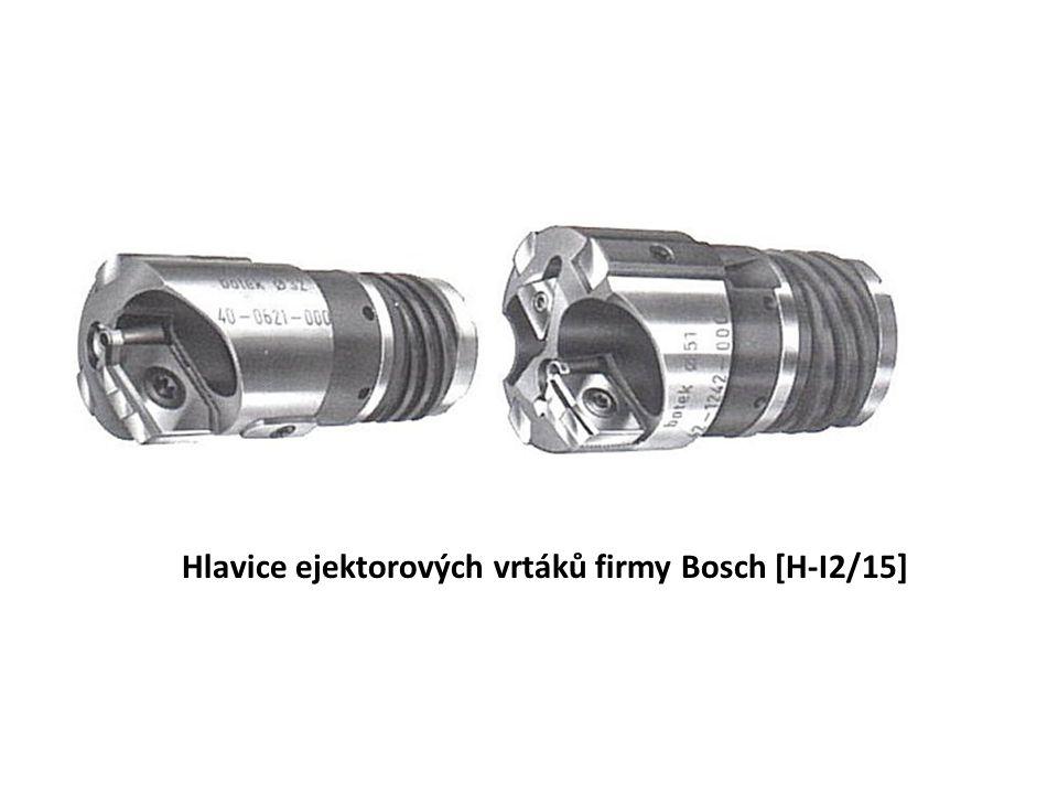 Hlavice ejektorových vrtáků firmy Bosch [H-I2/15]