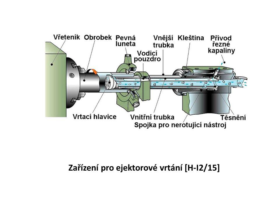 Zařízení pro ejektorové vrtání [H-I2/15]