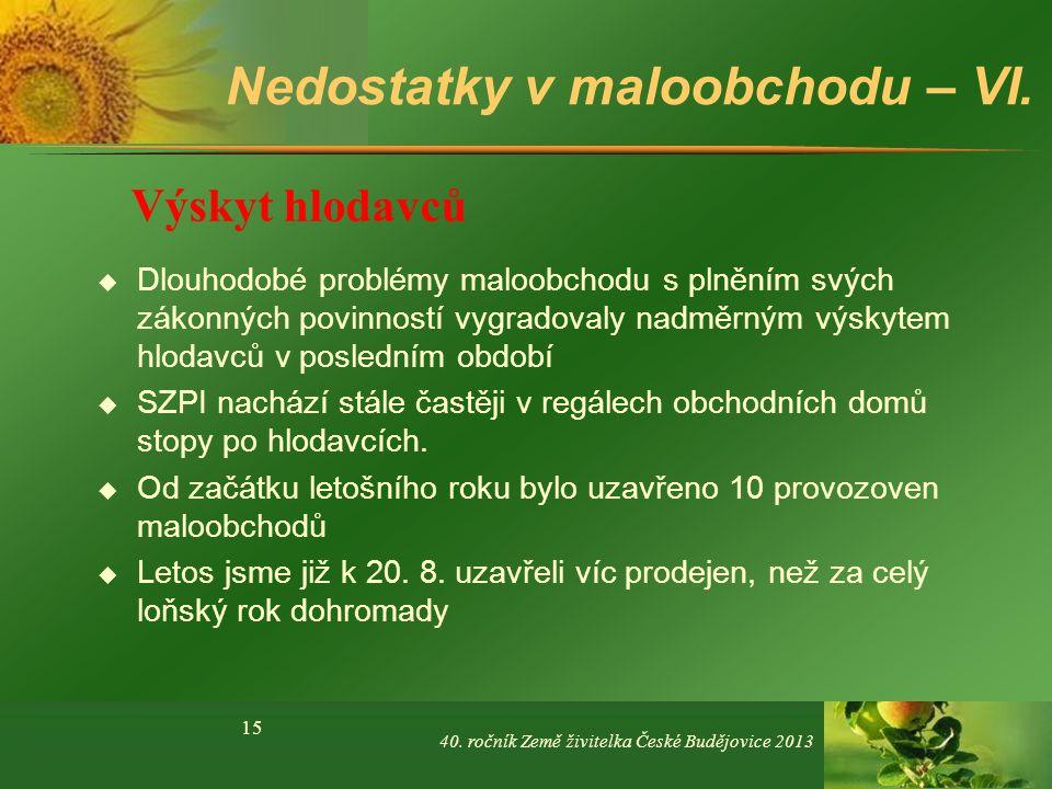 Přesně takto to nesmí vypadat!!! 40. ročník Země živitelka České Budějovice 2013 16