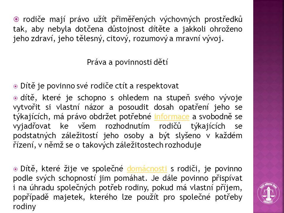  z.č.99/1963 sb., občanský soudní řád  zákon o sociálně právní ochraně dětí,  zákon č.