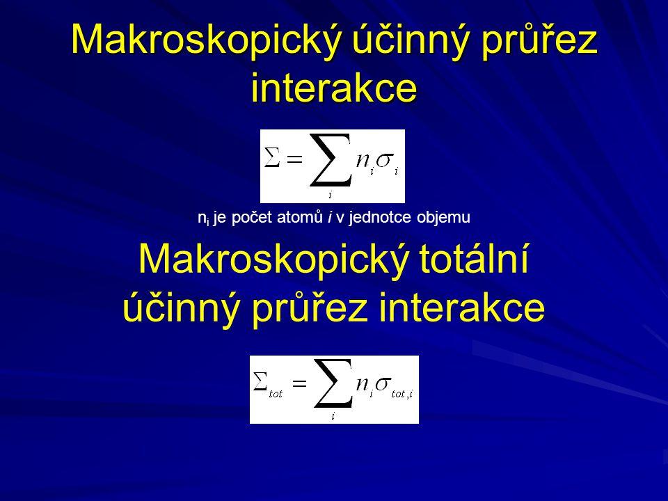 Střední volná dráha částice a srážková frekvence Elektrony energie 10 MeV v Al Elektrony energie 100 keV v Al