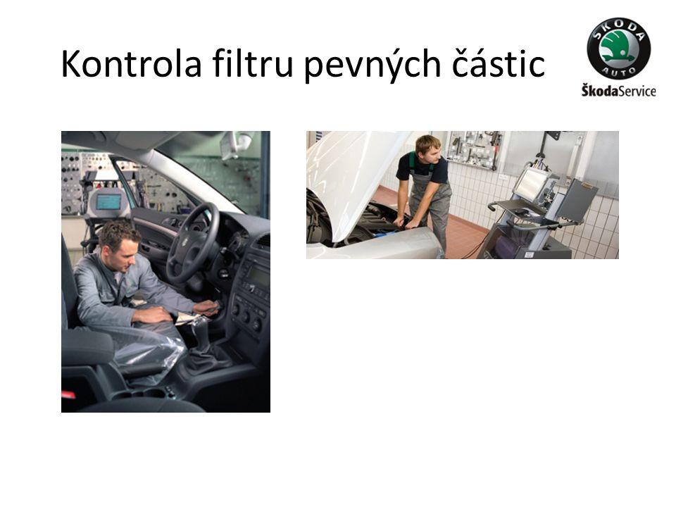 Kontrola filtru pevných částic