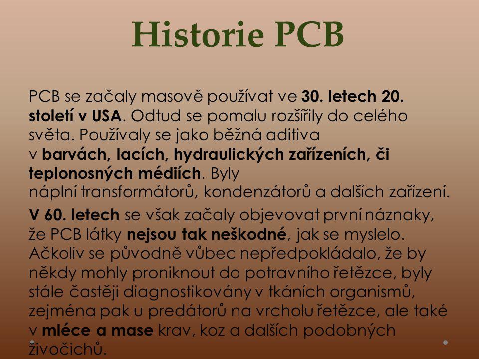 Historie PCB PCB se začaly masově používat ve 30.letech 20.