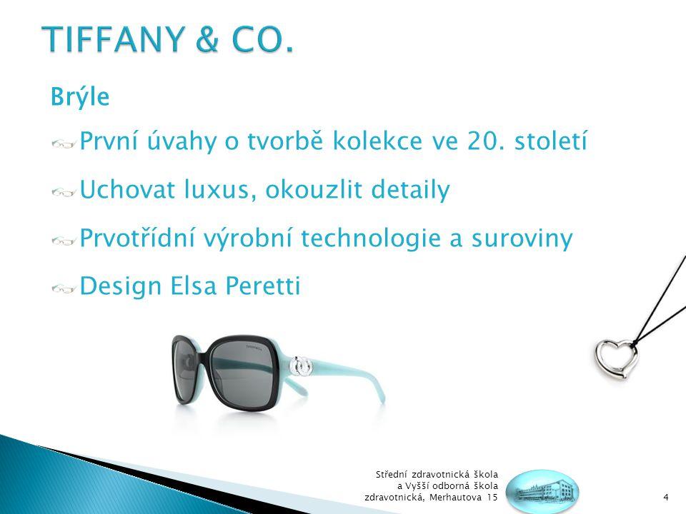 Brýle První úvahy o tvorbě kolekce ve 20.