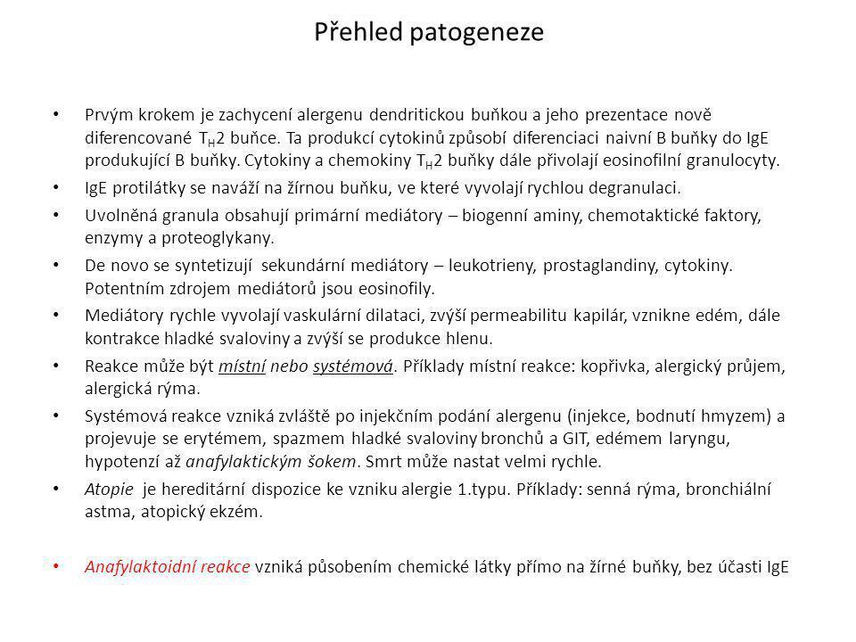 Vrozené imunodeficience (ID) • jsou většinou genetické, způsobené genovou mutací.