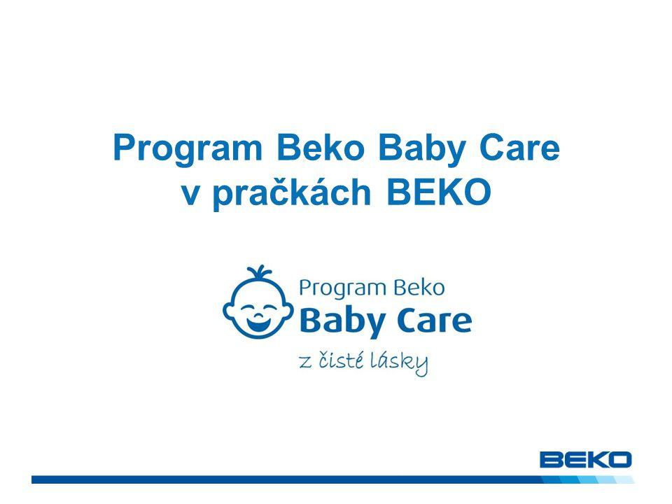 Co je Beko Baby Care program?.
