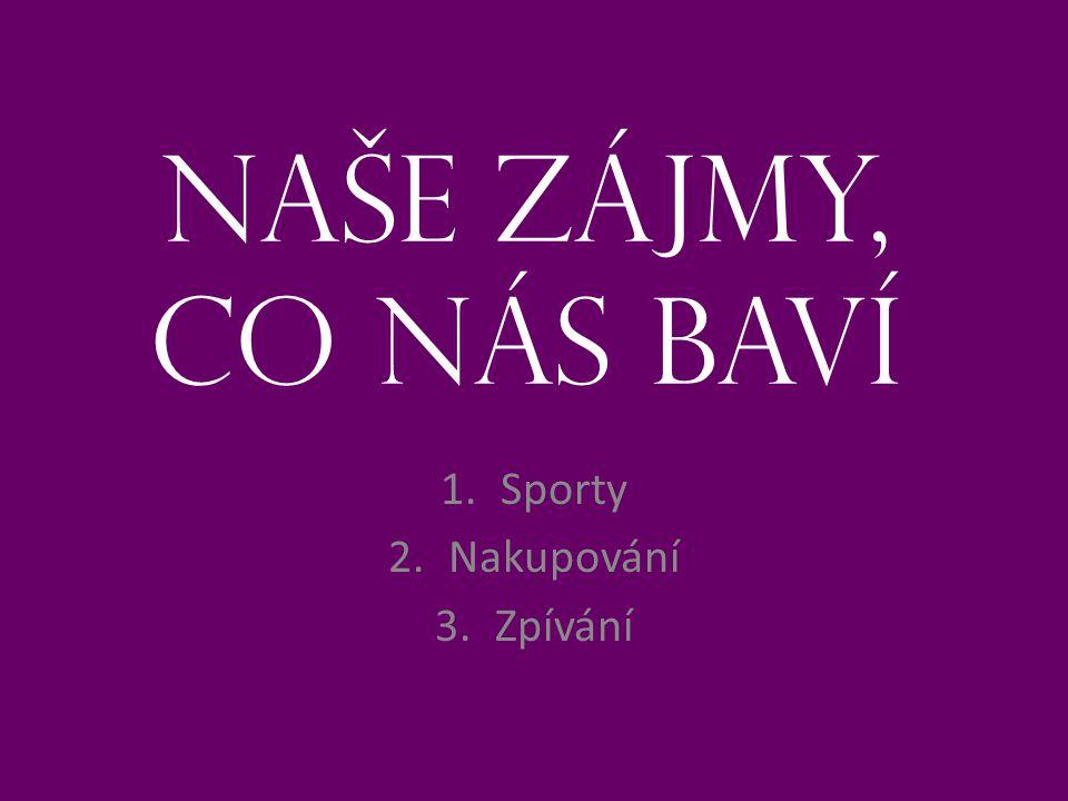 1. Sporty Barbora Tylová