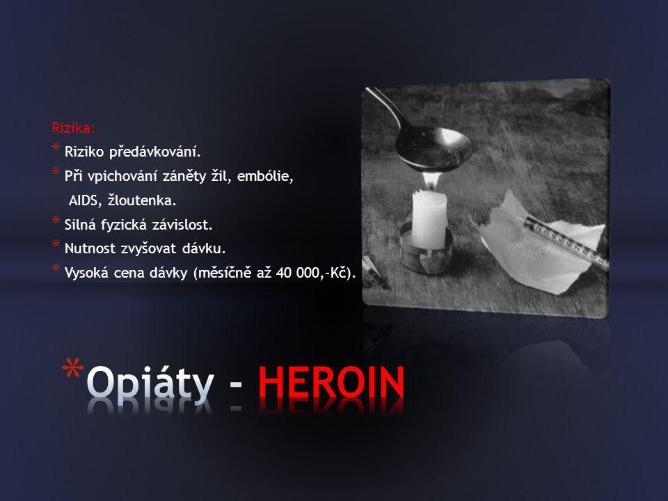 """Pervitin bývá často uváděn jako """"tradiční česká droga."""