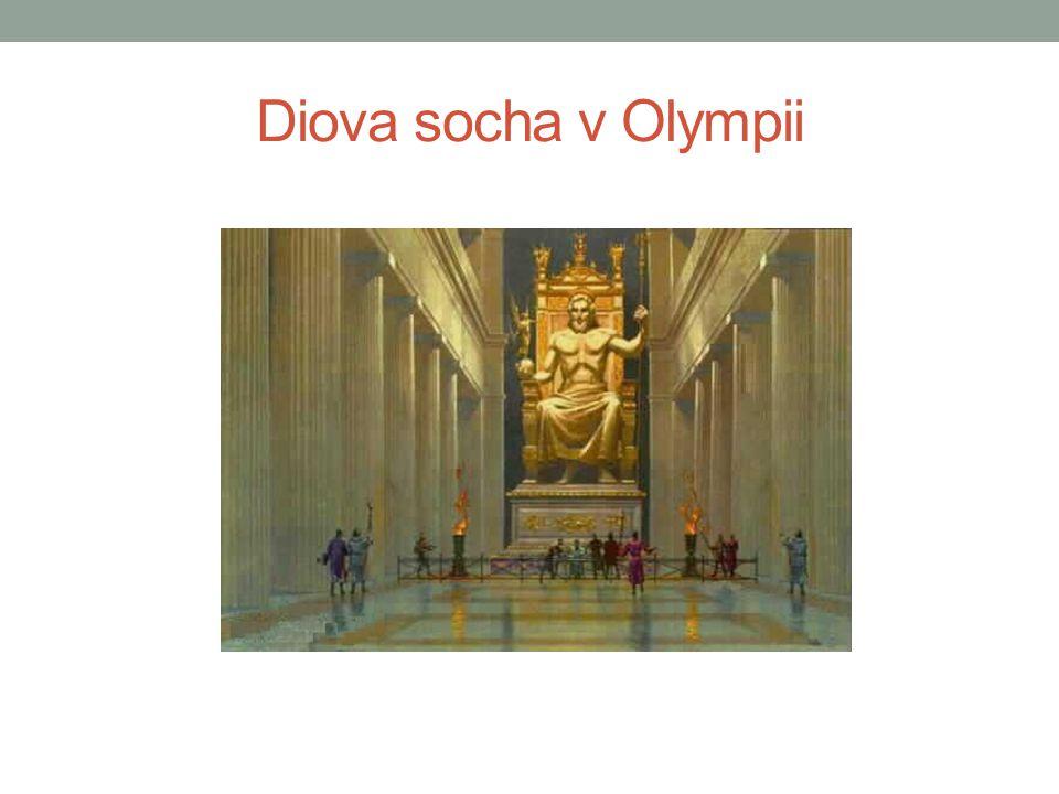 Diova socha v Olympii