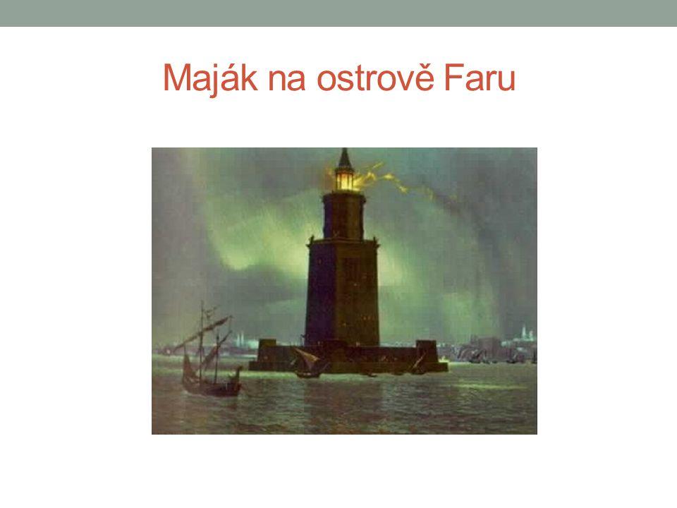 Maják na ostrově Faru