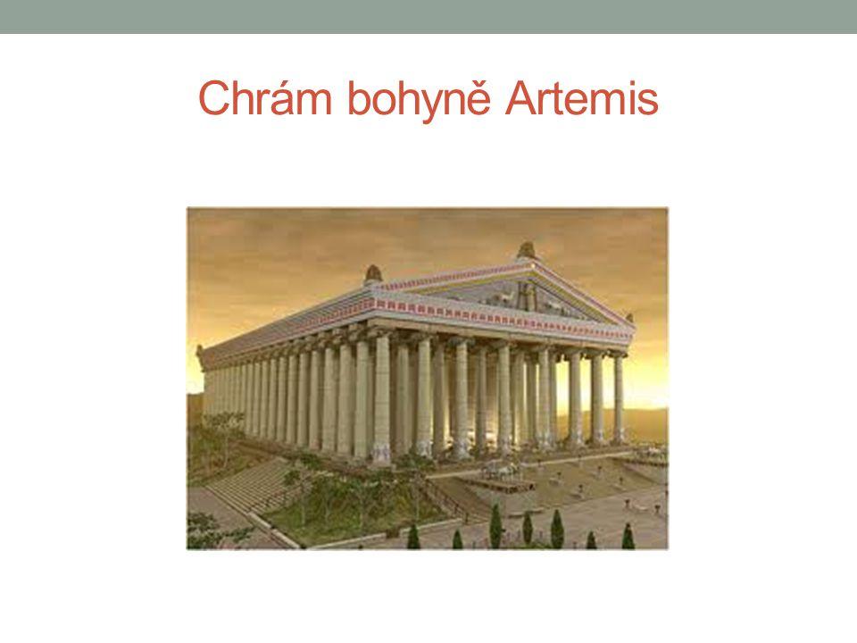 Chrám bohyně Artemis