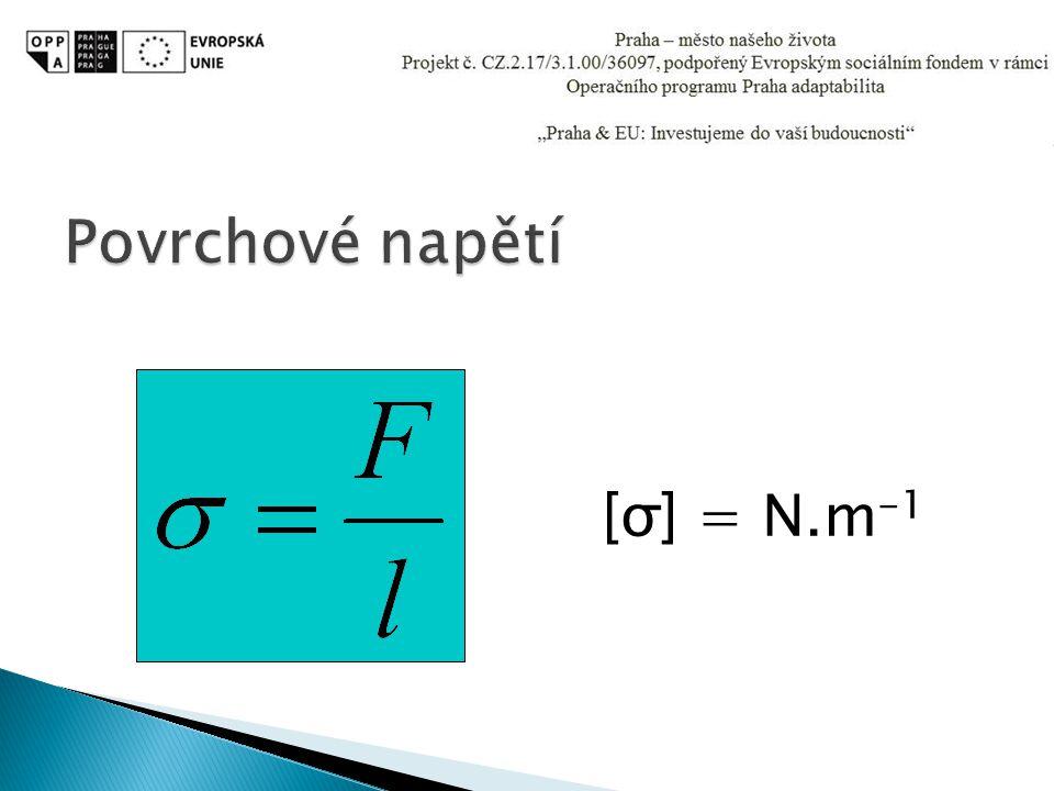 [σ] = N.m -1