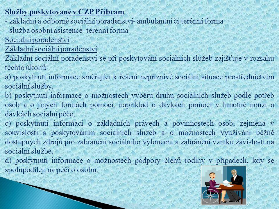 Právní forma: Centrum pro zdravotně postižené Středočeského kraje je dobrovolným občanským sdružením. Zřizovatelem Centra pro zdravotně postižené v Př