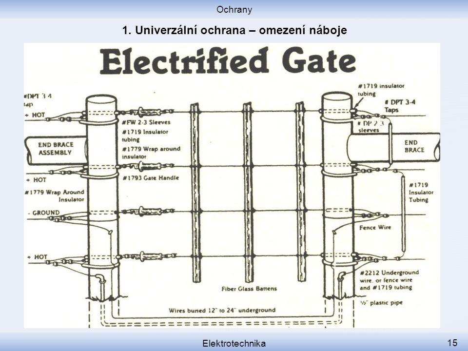 Ochrany Elektrotechnika 15