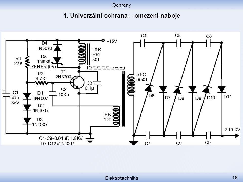 Ochrany Elektrotechnika 16