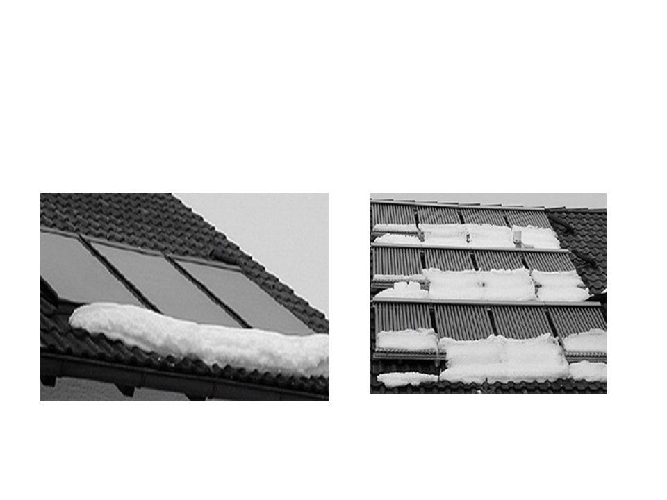 Příklad • Panelový dům 8 pater, 32 bytů, 2600 m2 • Spotřeba tepla na vytápění 190 MWh = 700 GJ • Spotřeba tepla na ohřev TV 135 MWh = 475 GJ • Průměrná cena tepla v roce 2011 530 Kč (480 Kč/GJ bez DPH) • Roční platba za energie 625 000 Kč (565 000 Kč bez DPH) • Instalace solárního systému pro pokrytí cca 50% energií pro ohřev TV • Parametry solárního systému: – 100 m 2 absorpční plochy (cca 200 m 2 plochy na střeše domu) – 6 m 3 akumulačních nádrží – Vakuové kolektory s vyšší účinností a lepším celoročním využitím – Regulace s internetovým připojením – možnost sledovat chování systému online – Automatický bezúdržbový systém s celoročním provozem • Roční produkce energie 57 MWh = 206 GJ / 110 000 Kč (100 000 Kč bez DPH)