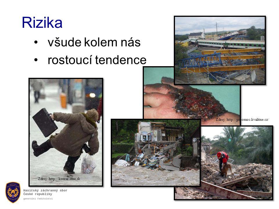 Rizika •všude kolem nás •rostoucí tendence Zdroj: http://prpomoc.kvalitne.cz/ Zdroj: http://korzar.sme.sk