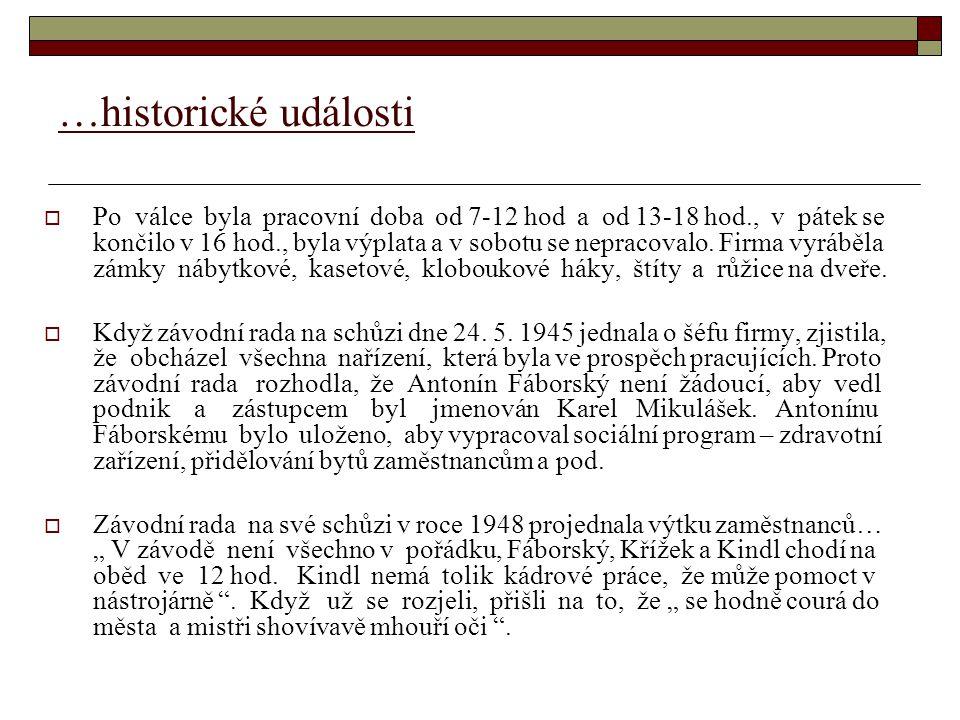 …historické události  3.3.