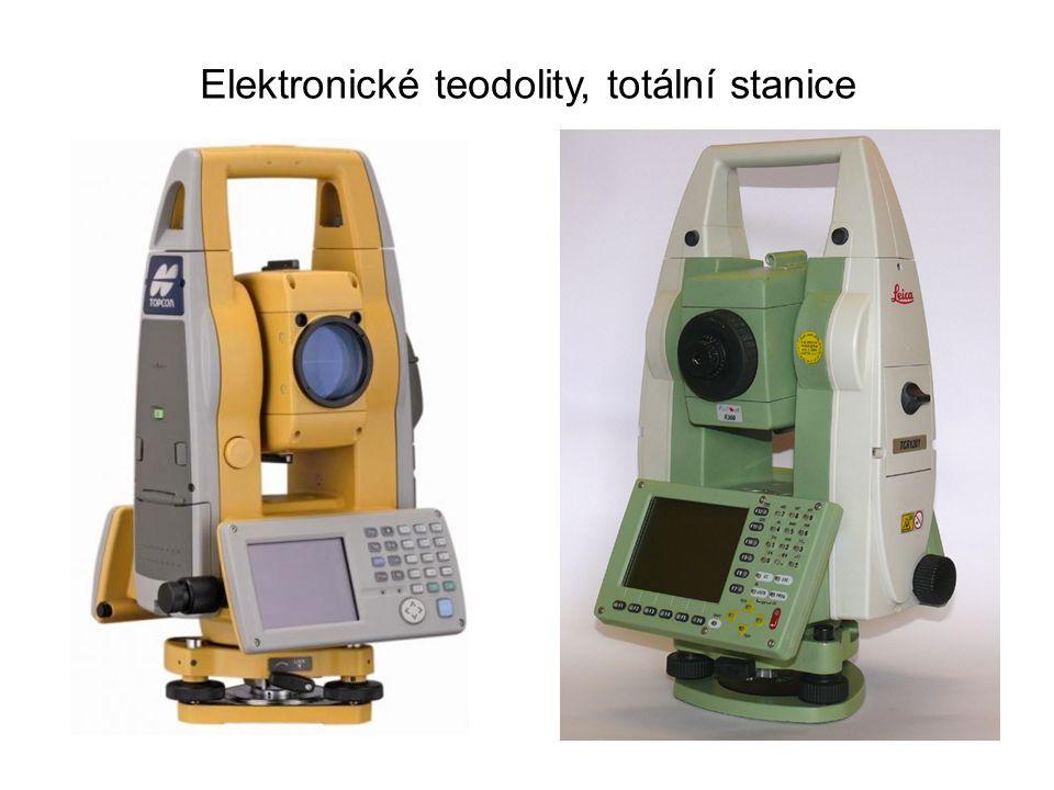 Elektronické teodolity, totální stanice