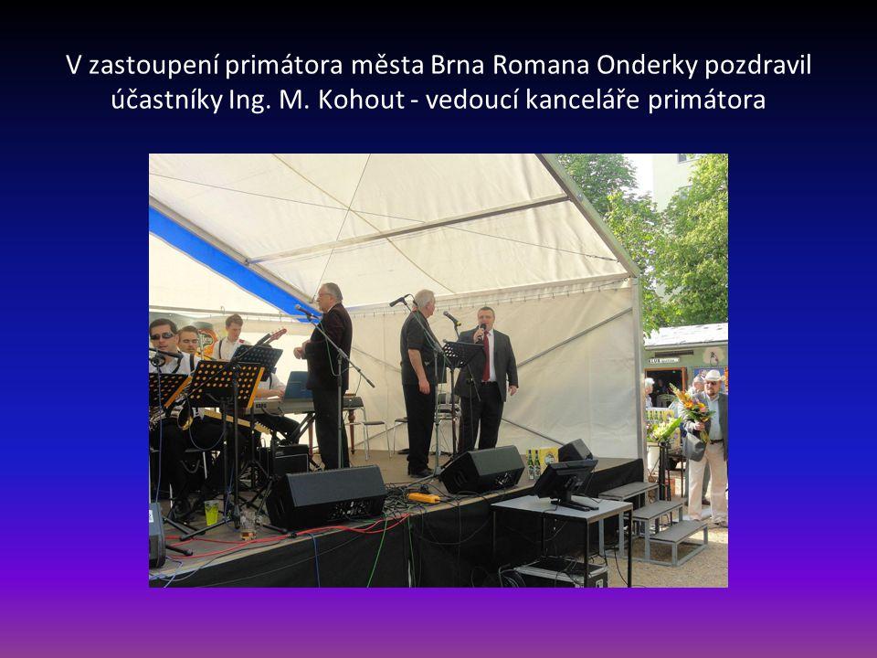 V zastoupení primátora města Brna Romana Onderky pozdravil účastníky Ing.