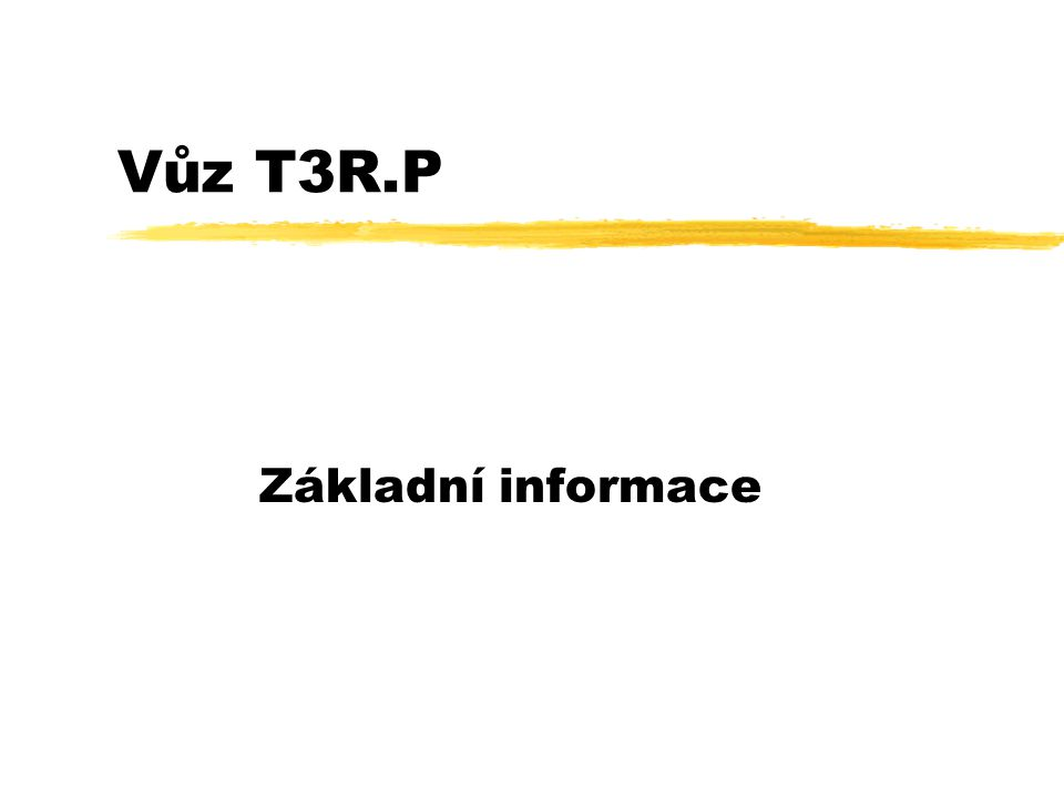 T3R.P zTranzistorová výzbroj TV Progress, výrobce Cegelec.