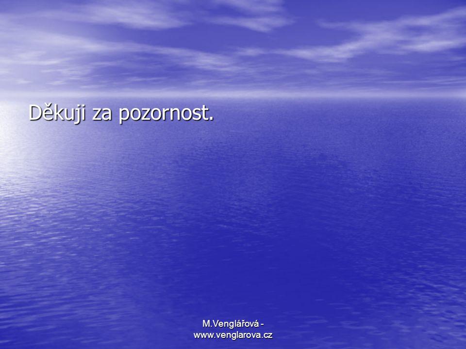 M.Venglářová - www.venglarova.cz Děkuji za pozornost.